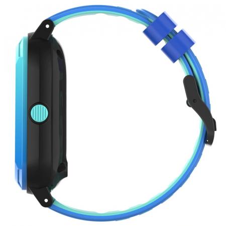Ceas Inteligent cu GPS pentru copii WONLEX KT20 4G Albastru, apelare video, rezistent la apa, localizare WiFI si monitorizare spion [2]