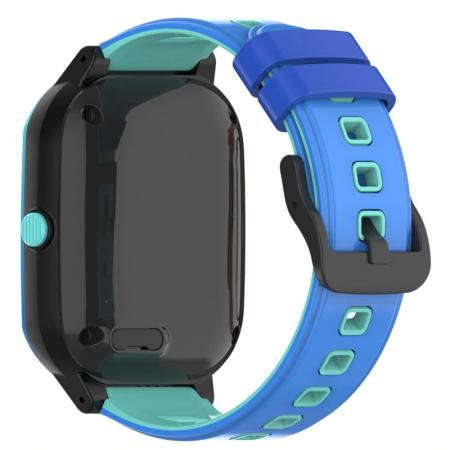 Ceas Inteligent cu GPS pentru copii WONLEX KT20 4G Albastru, apelare video, rezistent la apa, localizare WiFI si monitorizare spion [1]