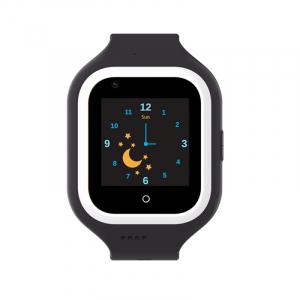Ceas Inteligent pentru copii WONLEX KT21 4G Negru, cu GPS, apelare video, rezistent la apa, localizare WiFI si monitorizare spion1