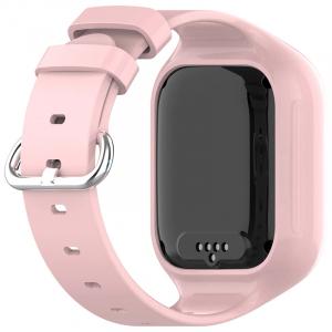 Ceas Inteligent cu GPS pentru copii WONLEX KT21 4G Roz, apelare video, rezistent la apa, localizare WiFI si monitorizare spion [4]