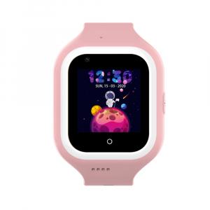 Ceas Inteligent cu GPS pentru copii WONLEX KT21 4G Roz, apelare video, rezistent la apa, localizare WiFI si monitorizare spion [6]