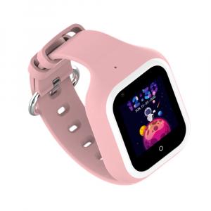 Ceas Inteligent cu GPS pentru copii WONLEX KT21 4G Roz, apelare video, rezistent la apa, localizare WiFI si monitorizare spion [3]