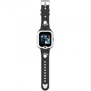 Ceas Inteligent pentru copii WONLEX KT22 4G Negru, cu GPS, apelare video, rezistent la apa, localizare WiFI si monitorizare spion1