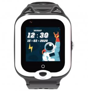 Ceas Inteligent pentru copii WONLEX KT22 4G Negru, cu GPS, apelare video, rezistent la apa, localizare WiFI si monitorizare spion2