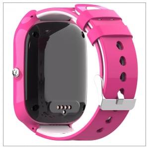 Ceas Inteligent pentru copii WONLEX KT22 4G Roz, cu GPS, apelare video, rezistent la apa, localizare WiFI si monitorizare spion - Copie2