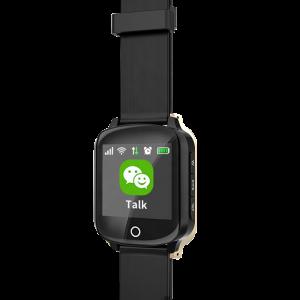 Ceas inteligent pentru seniori WONLEX EW200S Negru cu telefon, localizare GPS&WiFi, monitorizare spion si monitorizare ritm cardiac2
