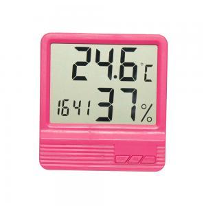 Termometru camera copii  cu ceas, alarma, si higrometru ROZ0