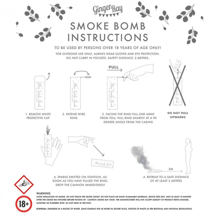 Confetti smoke bomb alb [1]