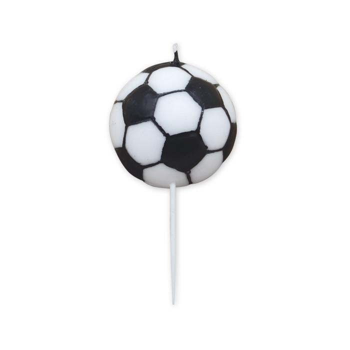 lumânare tort minge de fotbal [0]