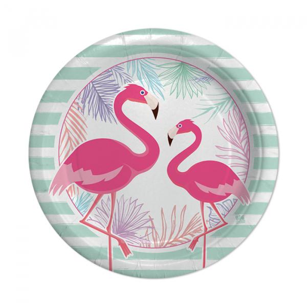 set farfurii flamingo [0]