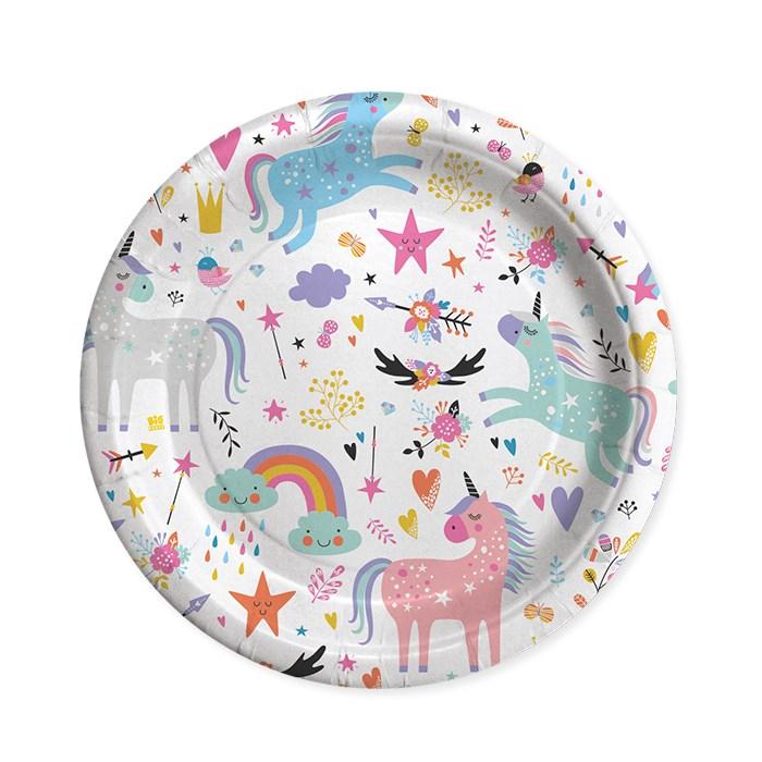 set farfurii unicorn [0]