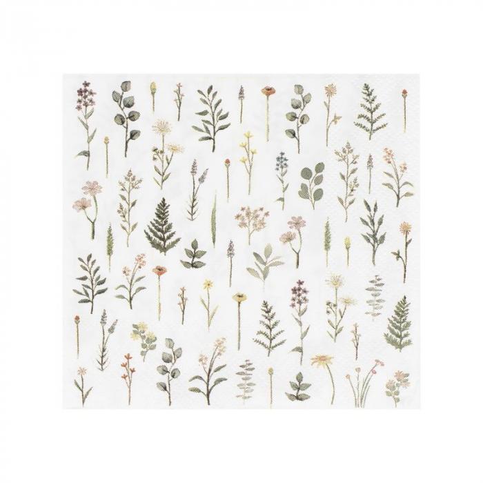 set servetele floral print [0]