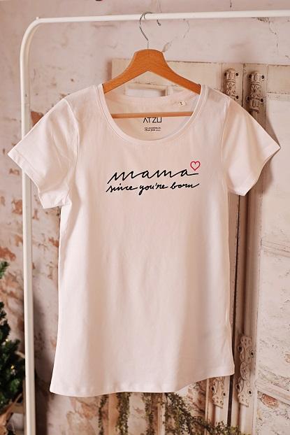 Tricou dama bumbac organic Mama since you're born [1]