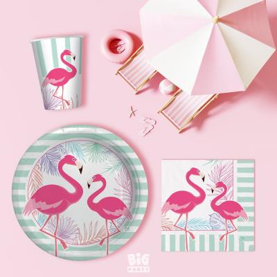 set farfurii flamingo [1]
