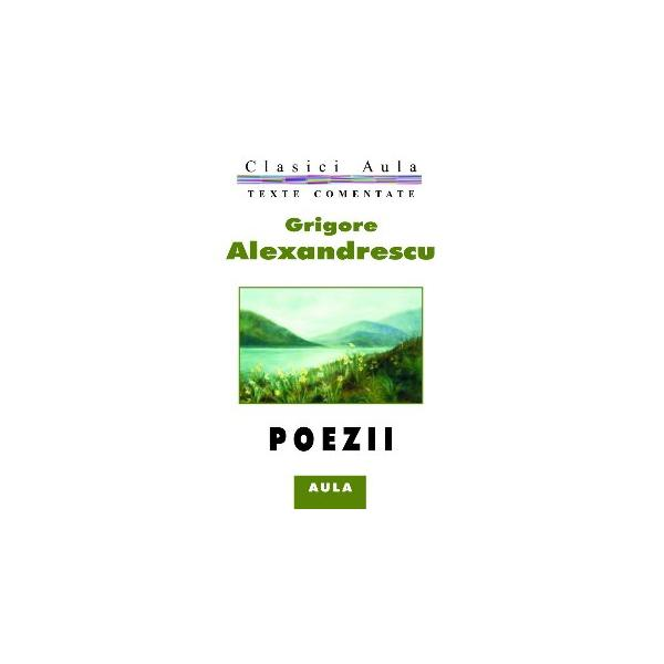 Grigore Alexandrescu - Poezii (texte comentate) 0
