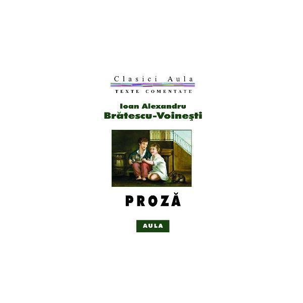 Al. Brătescu-Voinești - Proză (texte comentate) 0