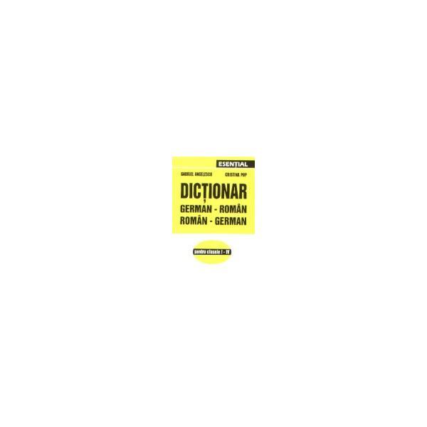 Dictionar german-roman (clasele I-IV) 0