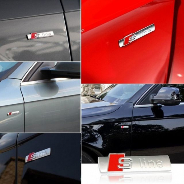 Emblema aripa Audi S Line 4