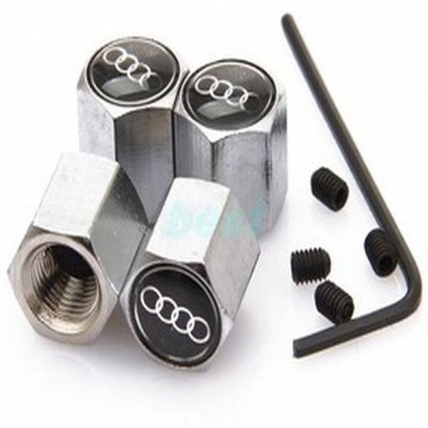 Set 4 capacele Audi negre antifurt 0