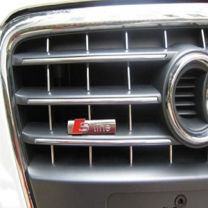 Emblema grila Audi S Line antifurt2