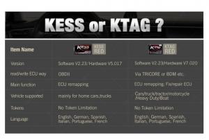KESS V2.47/V2.23  KTAG V7.020 programator chiptuning [4]