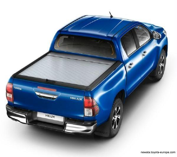Roll cover  bena din aluminiu Toyota Hilux [0]