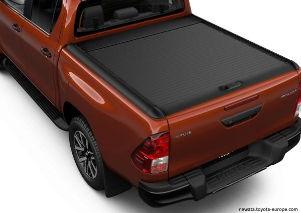 Roll cover negru Double Cab [0]
