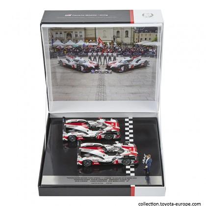 Pachet  TOYOTA HYBRID TS050 No. 8 & 7 Le Mans 1:43 Editie limitata [0]