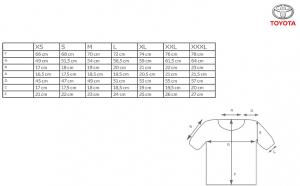 Tricou  Barbatesc Gazoo Racing Polo Negru [2]