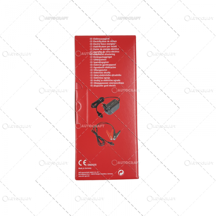 APARAT GARD ELECTRIC AM 1000 1,6 JOULE 9-12V 4