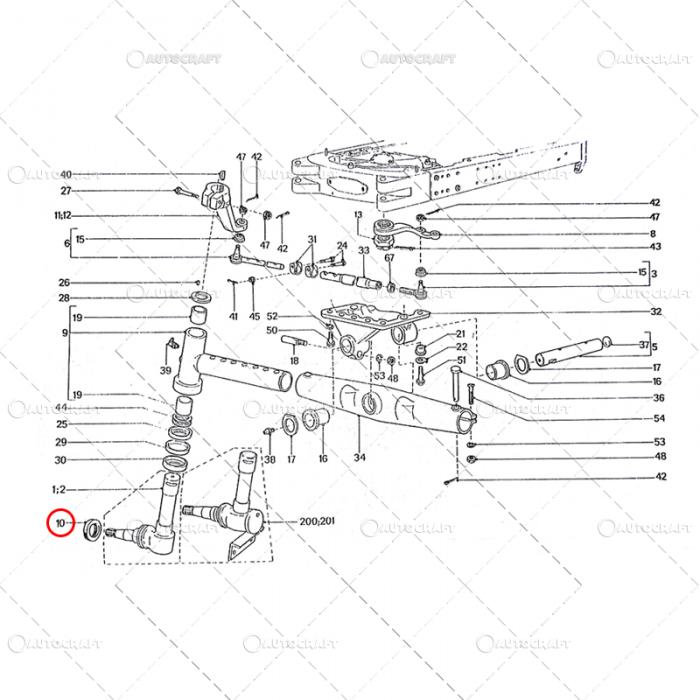 70X100X15 SIMERING FUZETA TRACTOR U650 [0]