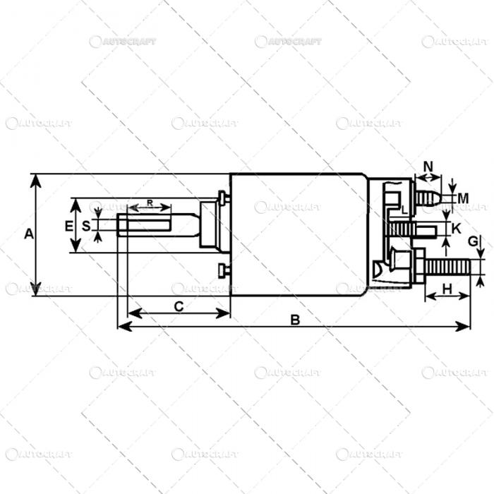 SOLENOID BOBINA ELECTROMOTOR MASSEY FERGUSON [2]