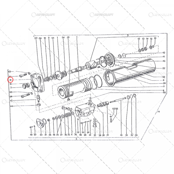 CAPAC SERVOMOTOR UTB TRACTOR U650 [0]