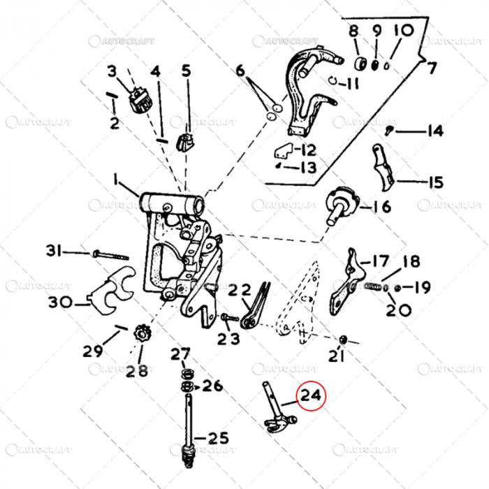 CIOC INODATOR CASE-IH L=114 MM 4