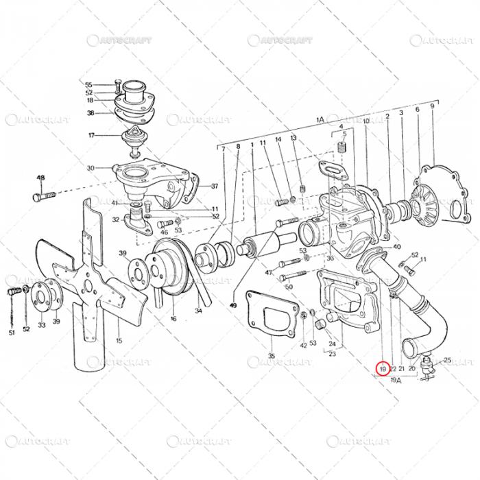 COT POMPA APA SUPERIOR TRACTOR U445 115.11.022 [2]