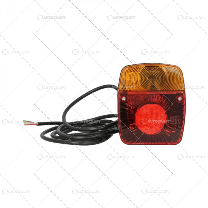 LAMPA SEMNALIZARE STOP SPATE CU CABLU 12-24 V 0