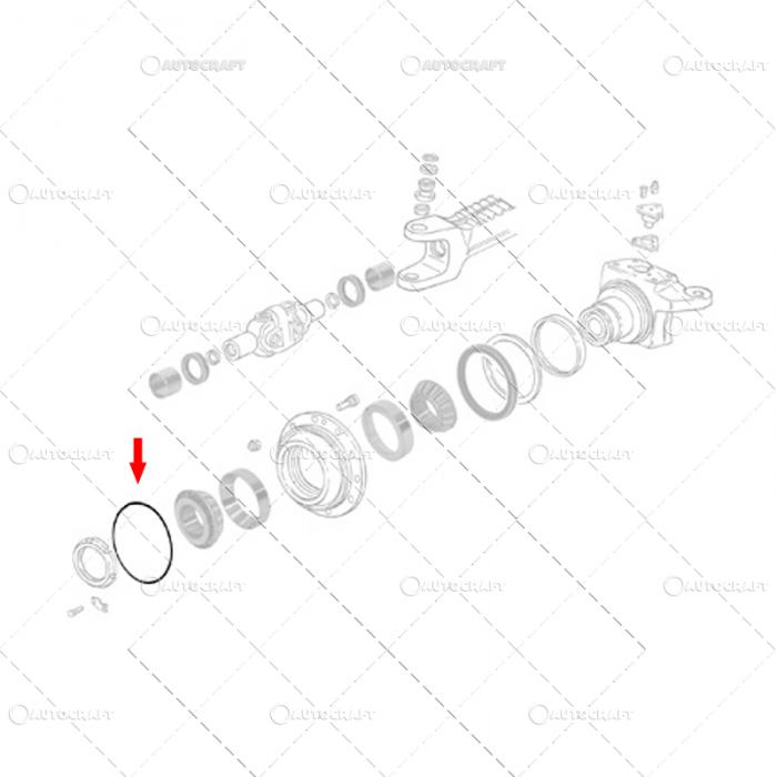 ORING ROATA FATA CASE IH 83927797, L40317 2