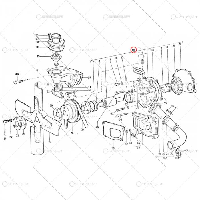 POMPA APA FIAT TRACTOR U445 115.11.010 [1]