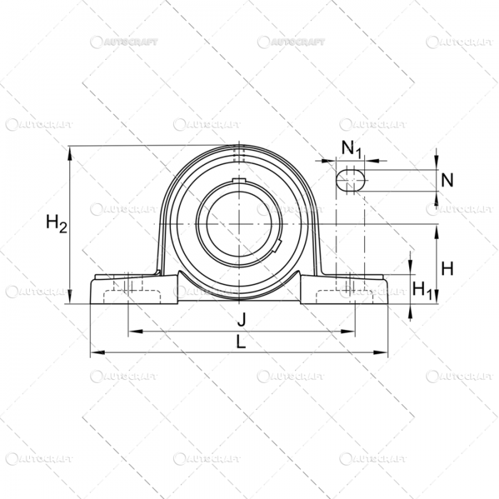 UCP 208 LAGAR CU RULMENT (40X137X42.9) LYC [2]