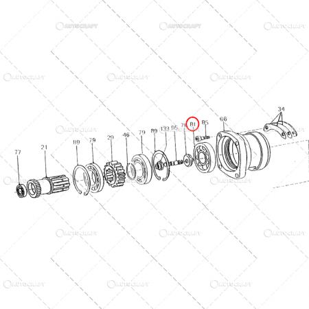 6408 2RS LYC RULMENT (40X110X27) [2]