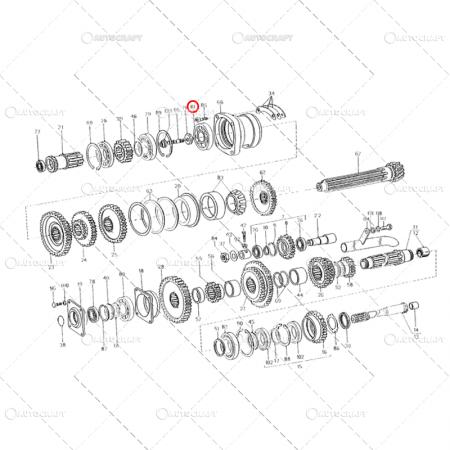 6408 2RS LYC RULMENT (40X110X27) [3]