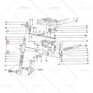 BUCSA FUZETA PLASTIC UTB TRACTOR U650 31.30.1581