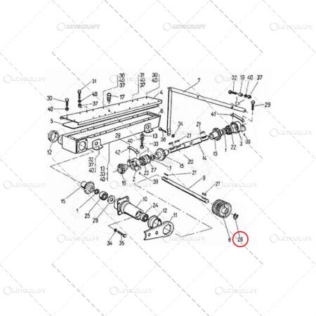 INEL SIGURANTA ARBORE EXTERIOR A 25 MM2