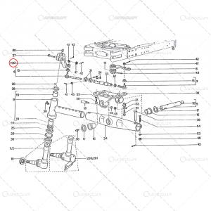 PARGHIE FUZETA STANGA UTB TRACTOR U650 38.30.117 [1]