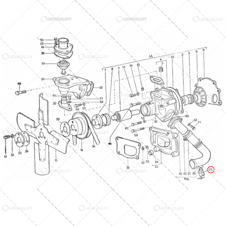 ROBINET APA BLOC MOTOR TRACTOR U650 U445 115.01.036 [1]
