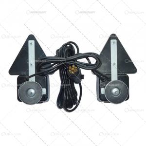 SET LAMPI SPATE COMBINATE CU TRIUNGHI PRINDERE MAGNET, CU CABLU DE 7.5 m1