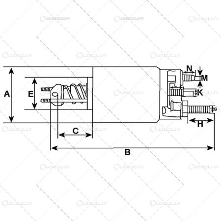 SOLENOID BOBINA ELECTROMOTOR FIAT [1]