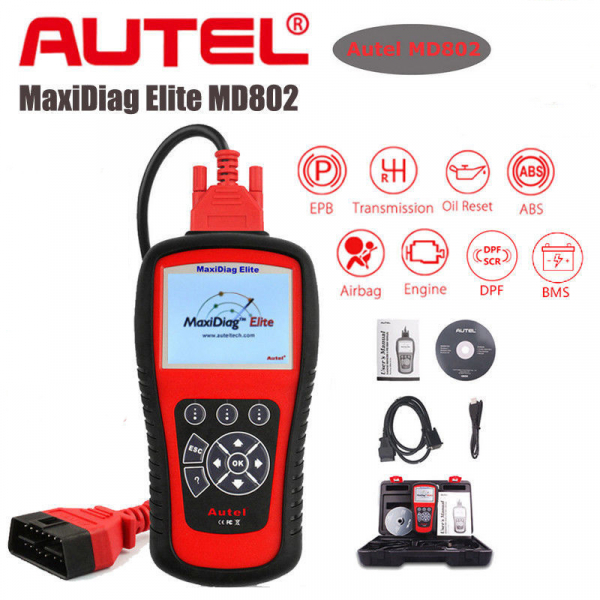 Autel Maxidiag Md802 All Systems 0