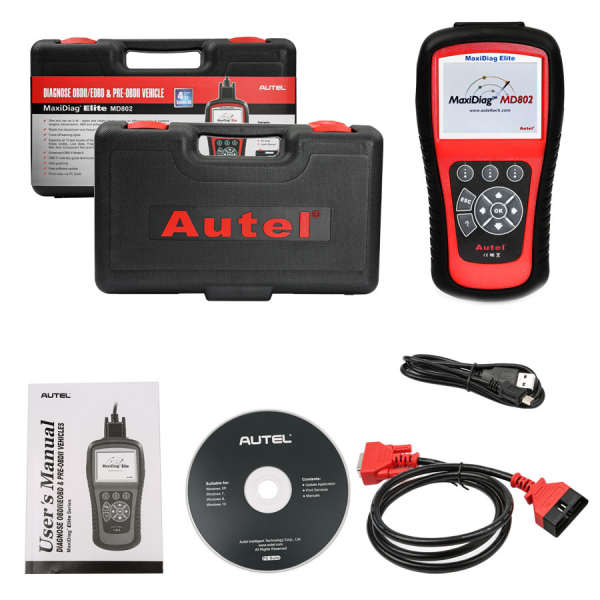 Autel Maxidiag Md802 All Systems 2