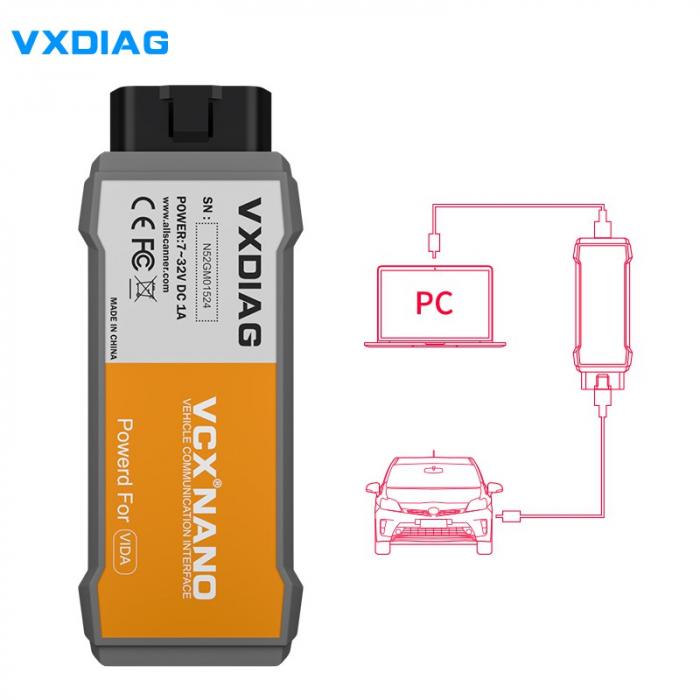 Vxdiag VCX Volvo 2